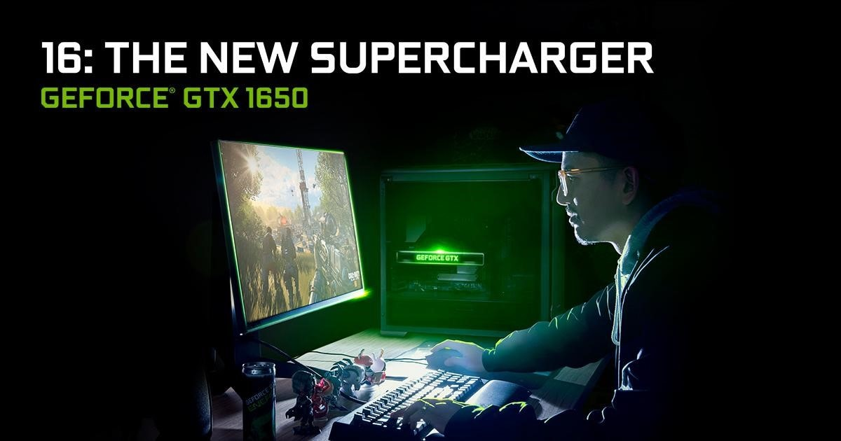 Nvidia GTX 1650 officially announced for desktops and laptops. GTX 1660 Ti is coming to laptops too