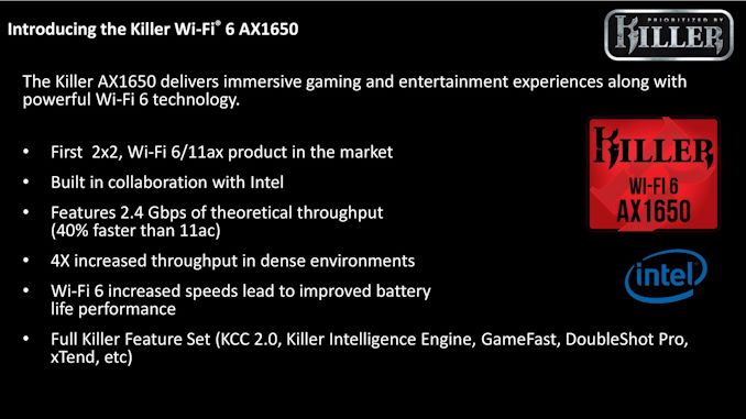 The Killer AX1650 module brings Wi-Fi 6/11ax to laptops & system builders 5