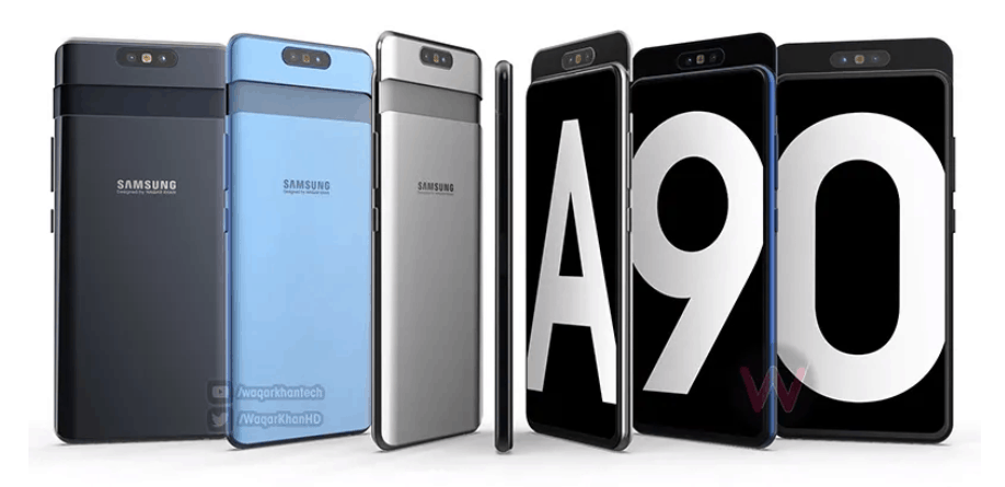 Samsung Galaxy A90 Specifications Leak – 48MP slide out camera & Snapdragon 7150 SoC (probably SD712)