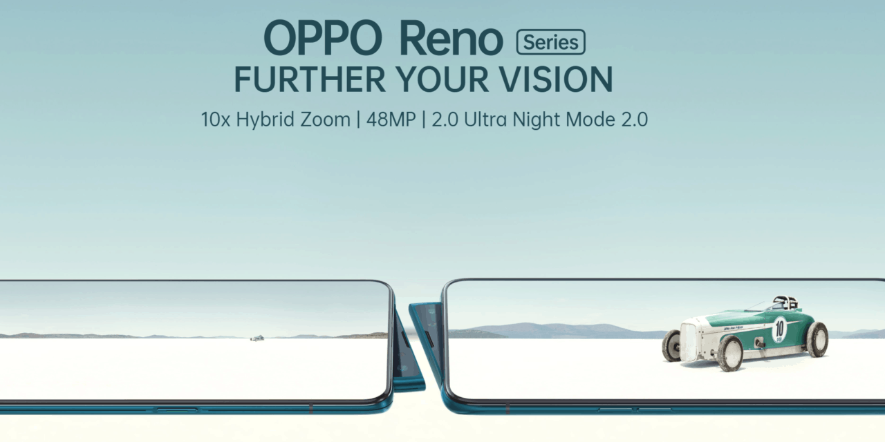 OPPO Reno 10x Zoom arrives 12th of June for £699, Reno on the 5th for £449