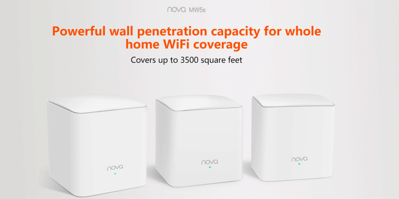 Tenda Nova MW5s AC1200 Whole Home Mesh WiFi System Review – Providing reliable Wi-Fi at a fraction of the cost of premium models