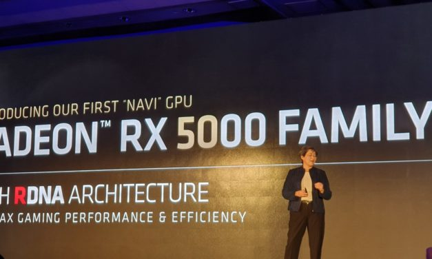 AMD Navi  Radeon RX 5700 launches in July with 25% performance gains & power efficiency improved by 50%. 10% better than RTX 2070 (in one test)