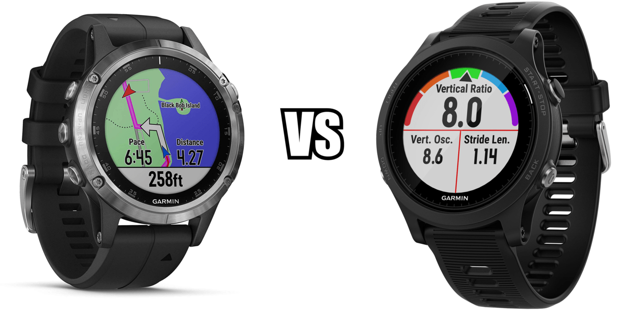 Garmin Forerunner 945 vs Fenix 5 Plus Multisport Watch Comparison