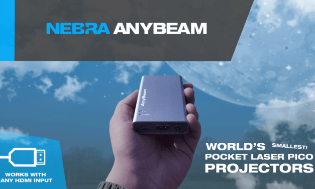 Nebra AnyBeam Review – Worlds smallest pocket laser projector.