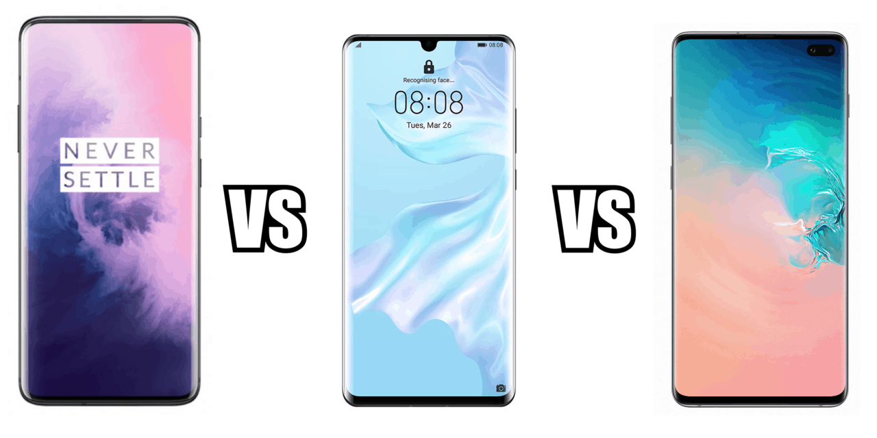 OnePlus 7 Pro vs Huawei P30 Pro	vs Samsung Galaxy S10+ – Is OnePlus still a flagship killer?