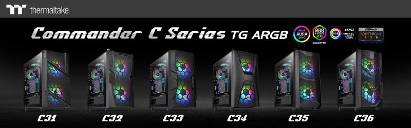 Thermaltake Commander C36 TG ARGB Edition Review – 200mm ARGB and verticle GPU mount for under £100