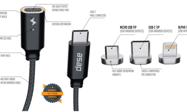 UNO: The world's first cross device USB Type-C magnetic cable now funded on Kickstarter