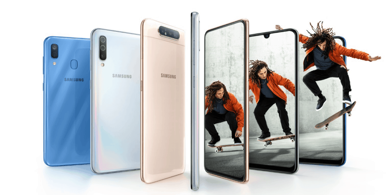 Samsung Galaxy A80 vs Galaxy A70 vs Galaxy A50 – A comparison of the Samsung A series