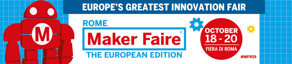 Maker Faire Rome unaffected by Maker shutdown. The event takes place 18 to 20 October with Call for Makers closing 8th July