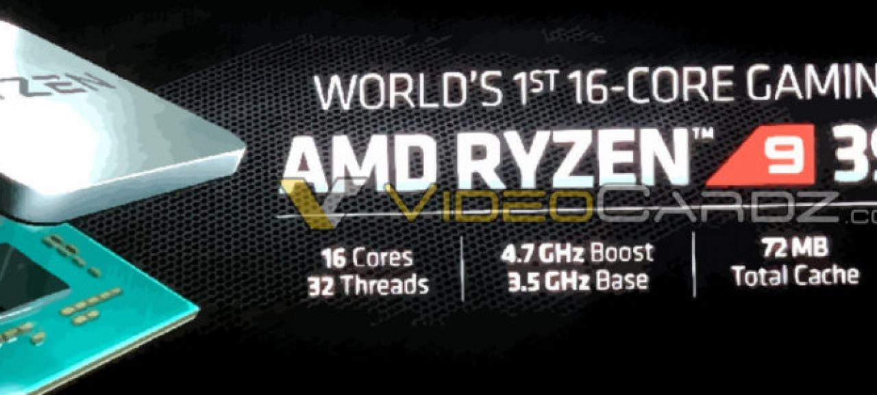 AMD Ryzen 9 3950X 16-core CPU expected to be announced at E3