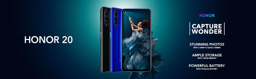 Honor 20 to launch in the UK on 21 June for £399. Pro orders get HONOR Watch Magic