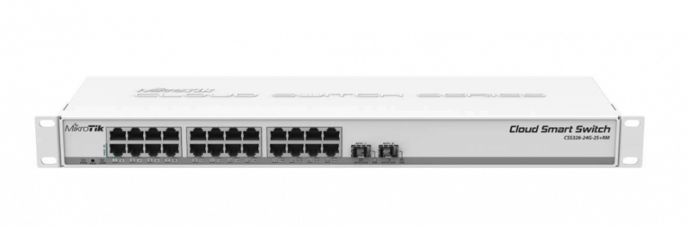 Mikrotik Cloud Smart Switch 326-24G-2S+RM Review – The cheapest 10gbe switch on the market