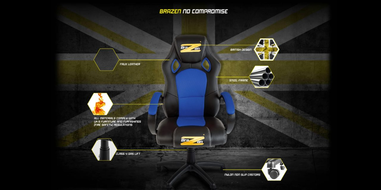 Brazen Puma Pc Gaming Chair Review An Affordable