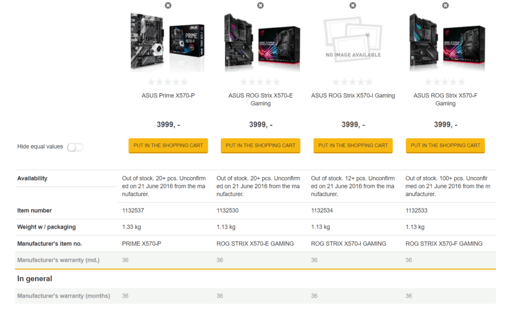 AMD Ryzen 3000 CPUs & X570 Motherboards prices listed by Danish retailer. R5 3700X -£357, 3800X - £435, 3900X - £549 2