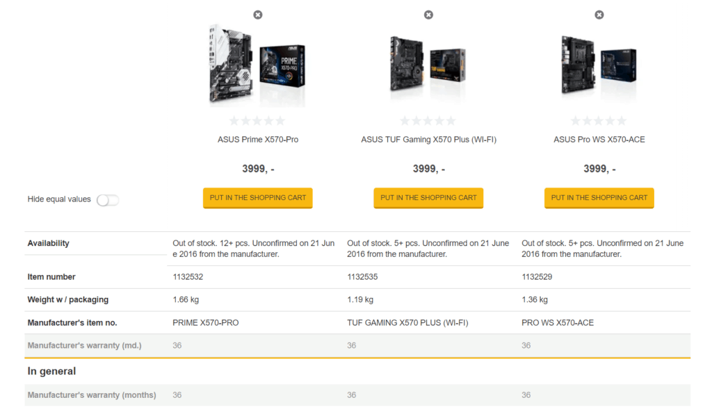 AMD Ryzen 3000 CPUs & X570 Motherboards prices listed by Danish retailer. R5 3700X -£357, 3800X - £435, 3900X - £549 1