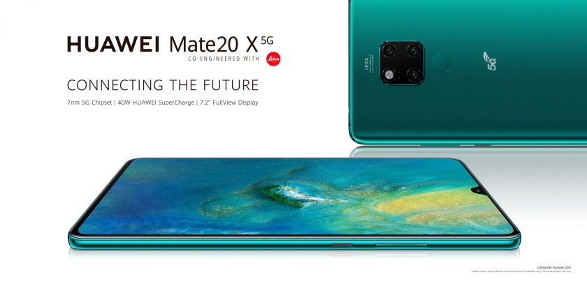 Huawei Mate 20 X 5G lands in the UK for £999 SIM-free