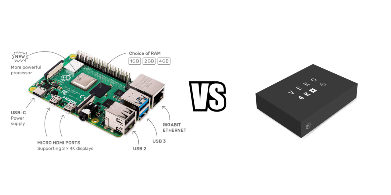 Raspberry Pi 4 (LibreELEC) vs Vero4K (OSMC) as a 4K HDR Kodi