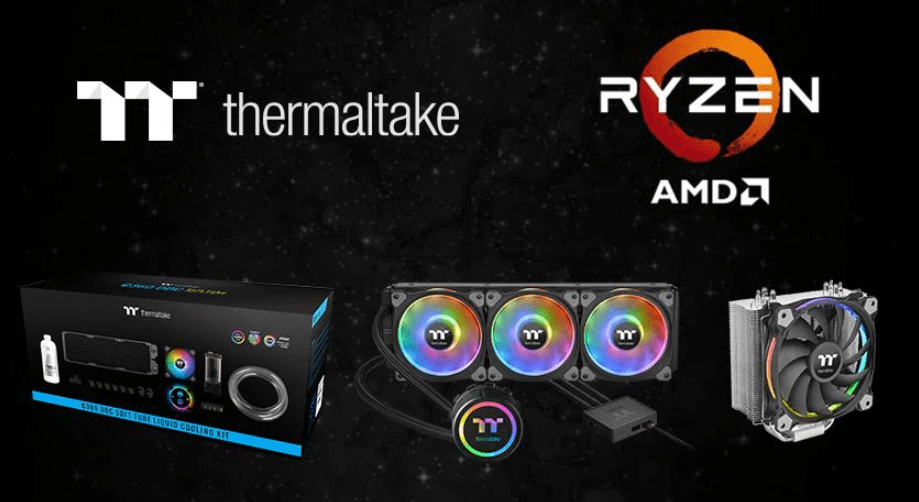 Thermaltake lists their recommended coolers for AMD Ryzen 3000 series