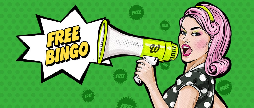 Wink Bingo has the best sign up bonus. No deposit newbies room with prizes of up to £900