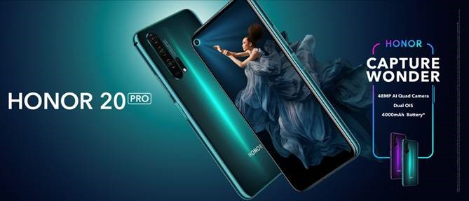 Honor 20 Pro finally lands in the UK on 1st August £549.99