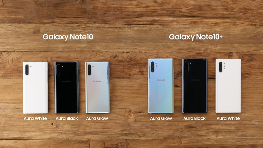 Samsung Galaxy Note10 Series Launched with Samsung Exynos 9825 or Snapdragon 855 (the none plus one) 5