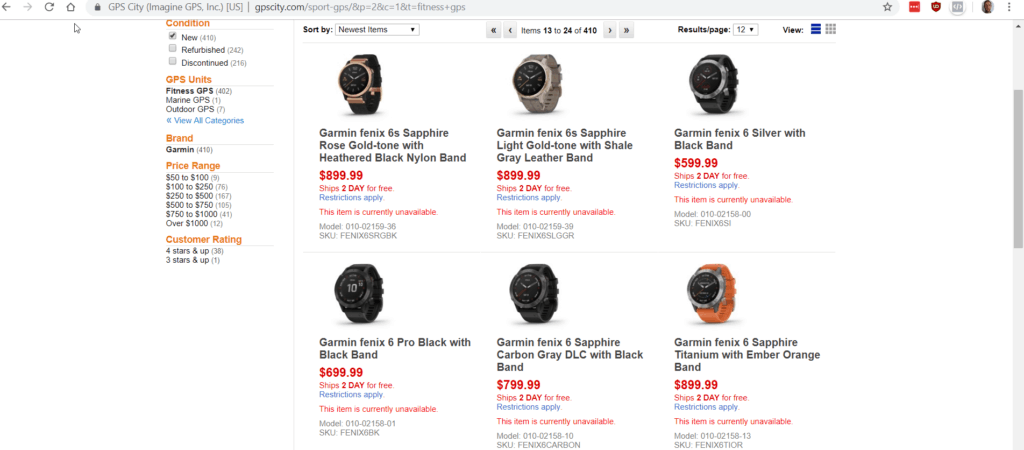 GPScity & Clevertraining lists Garmin Fenix 6, Venu and Vivoactive 4 early. Another site has listed a September 6th launch date 7