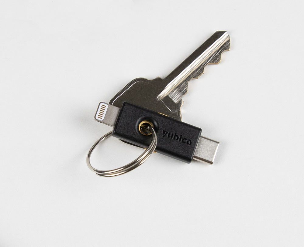 Yubico Launches Lightning-Compatible Hardware 2FA Security Key, the YubiKey 5Ci 1