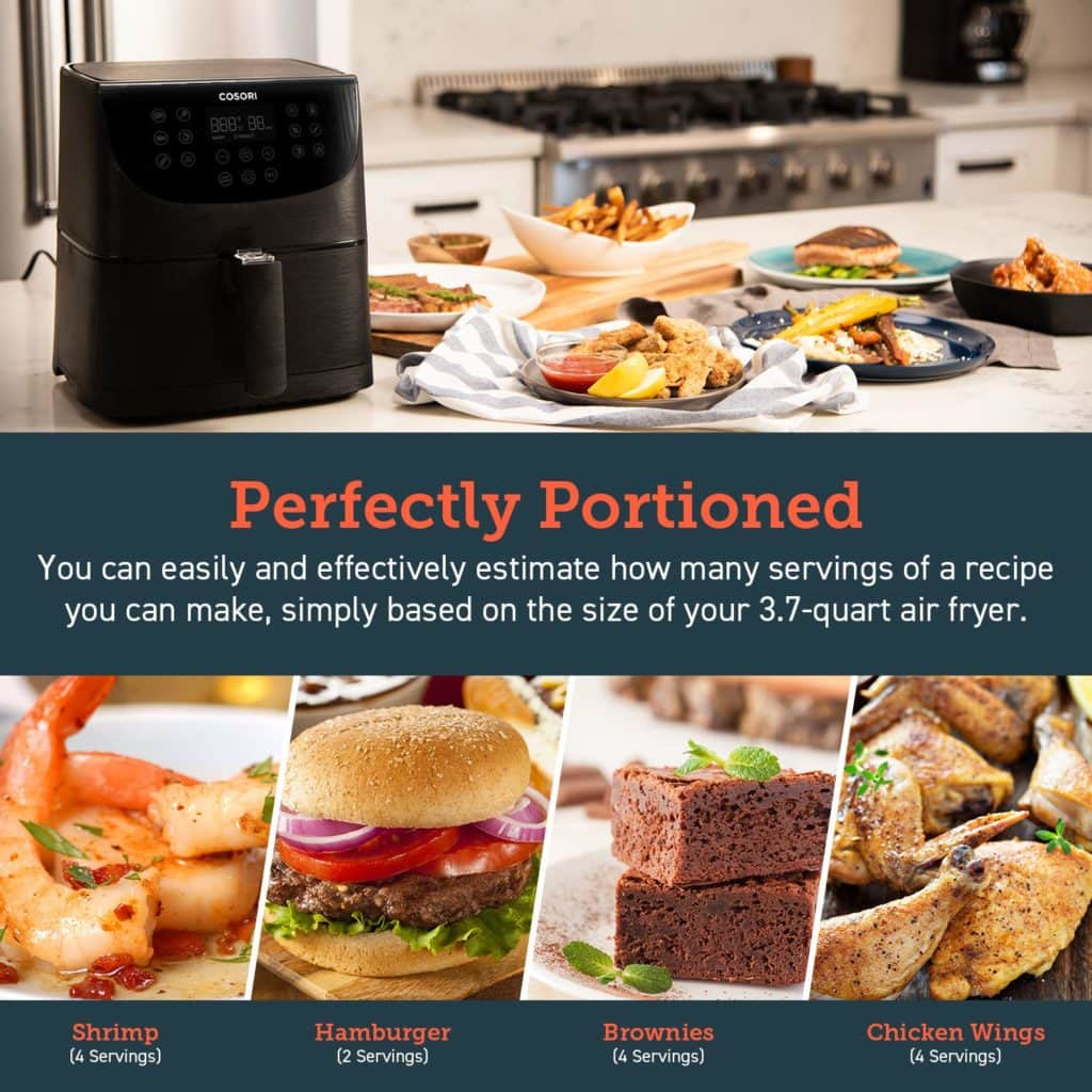 Cosori Air Fryer Review – 3.5L oil-free air fryer for quick low-fat healthy cooking 2