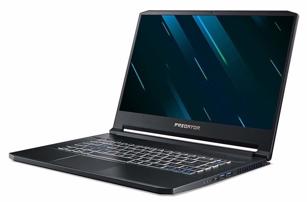 Acer Predator Triton 500 Gaming Laptop Review with Nvidia GeForce RTX 2060 3