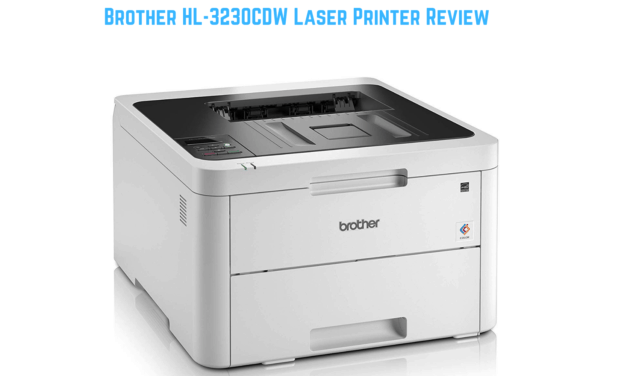 Brother HL-3230CDW Laser Printer Review – An affordable colour laser perfect for a small or home office
