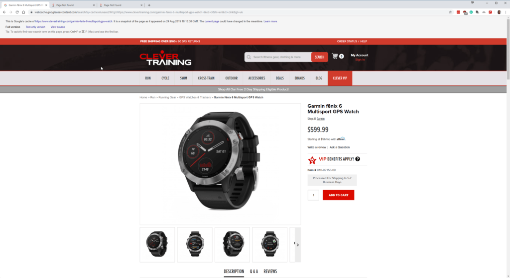GPScity & Clevertraining lists Garmin Fenix 6, Venu and Vivoactive 4 early. Another site has listed a September 6th launch date 1