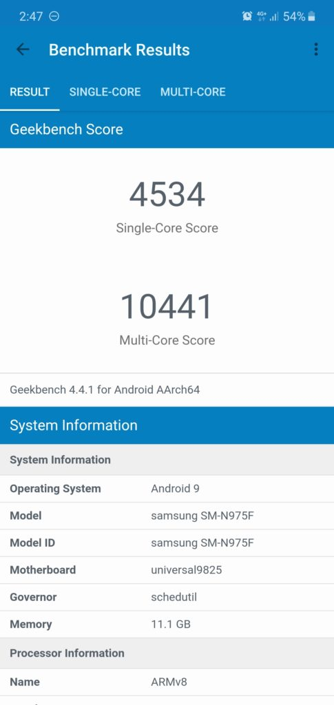 Samsung Exynos 9825 vs Exynos 9820 vs Snapdragon 855 - Exynos 9825 offers little if any improvement on the Note 10 vs Galaxy S10 4