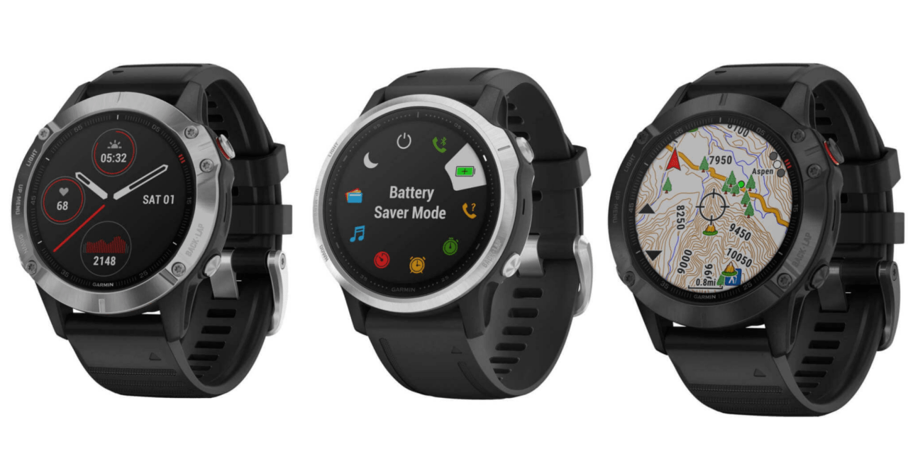 New Garmin Fenix 6, 6S and 6X images – detailed product renders