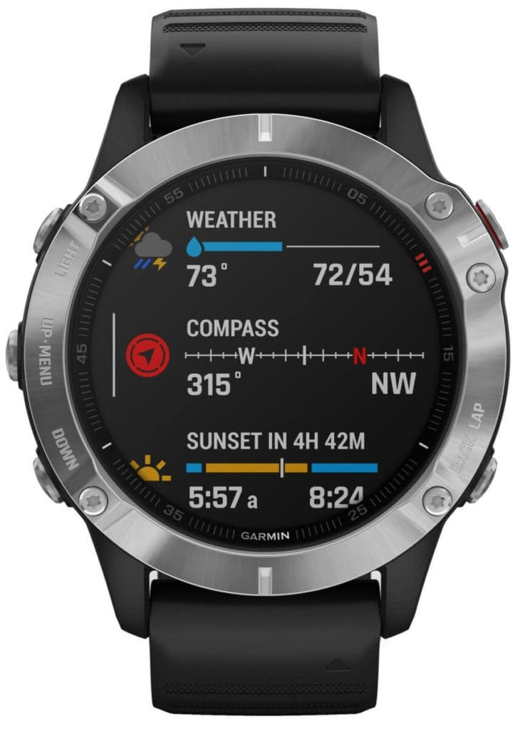 New Garmin Fenix 6, 6S and 6X images - detailed product renders 3