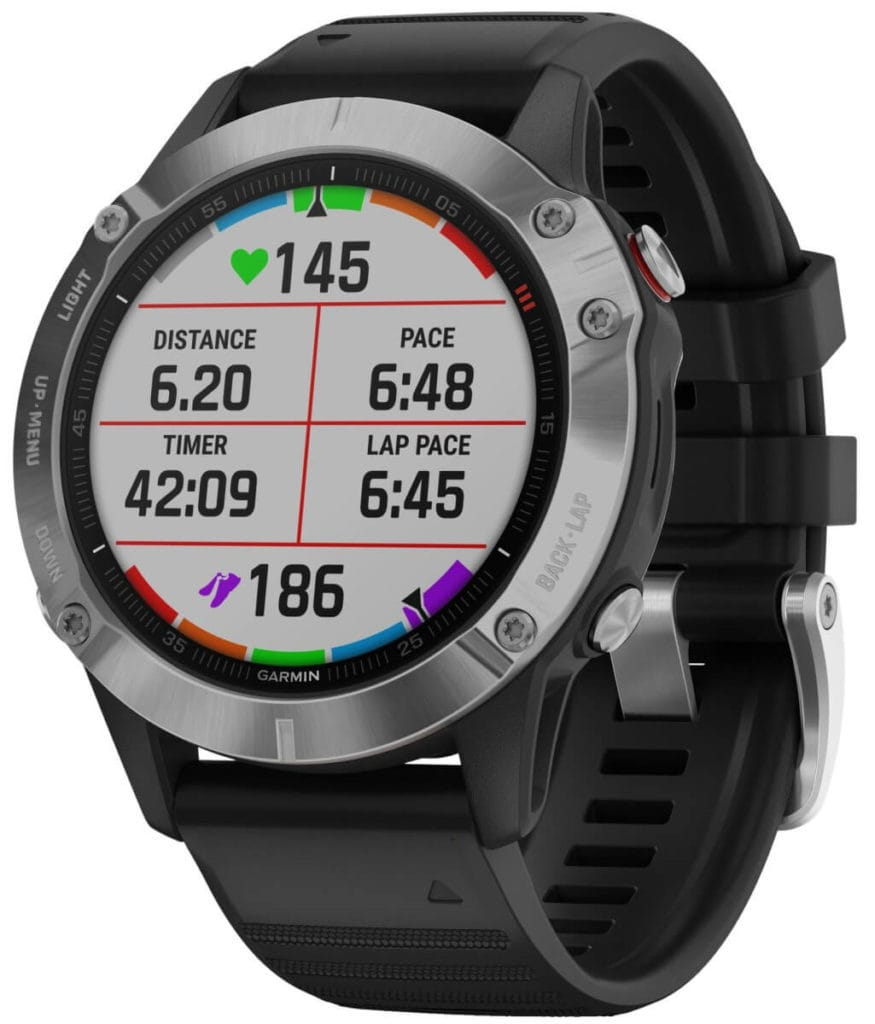 New Garmin Fenix 6, 6S and 6X images - detailed product renders 6