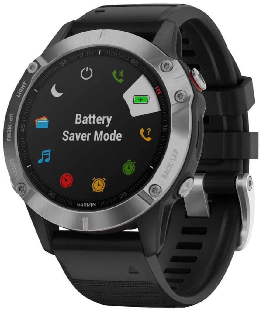 New Garmin Fenix 6, 6S and 6X images - detailed product renders 7