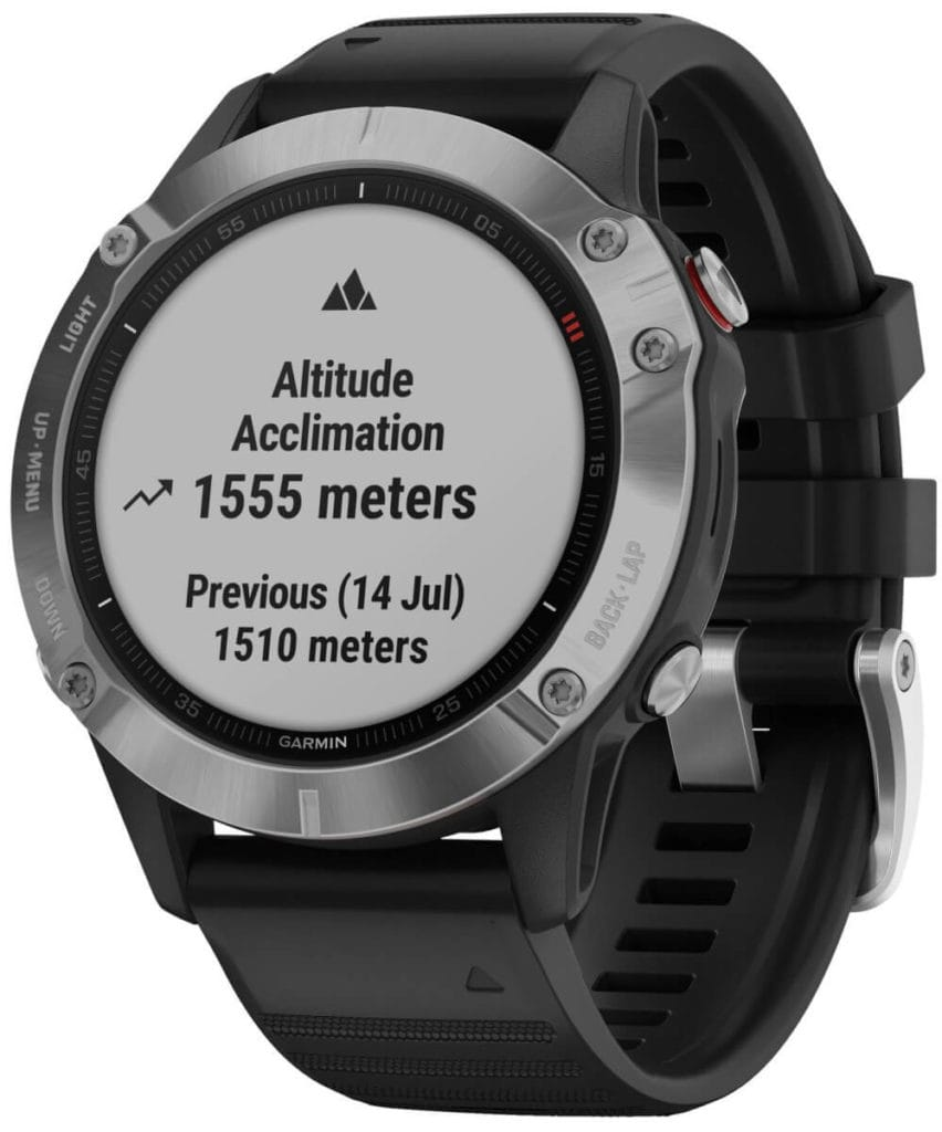 New Garmin Fenix 6, 6S and 6X images - detailed product renders 8