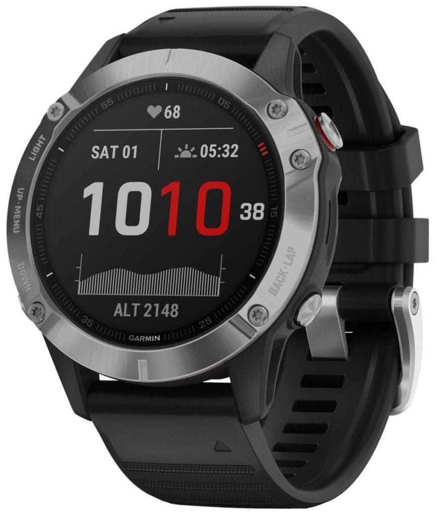 New Garmin Fenix 6, 6S and 6X images - detailed product renders 9