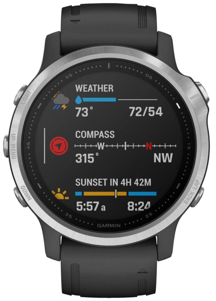 New Garmin Fenix 6, 6S and 6X images - detailed product renders 17