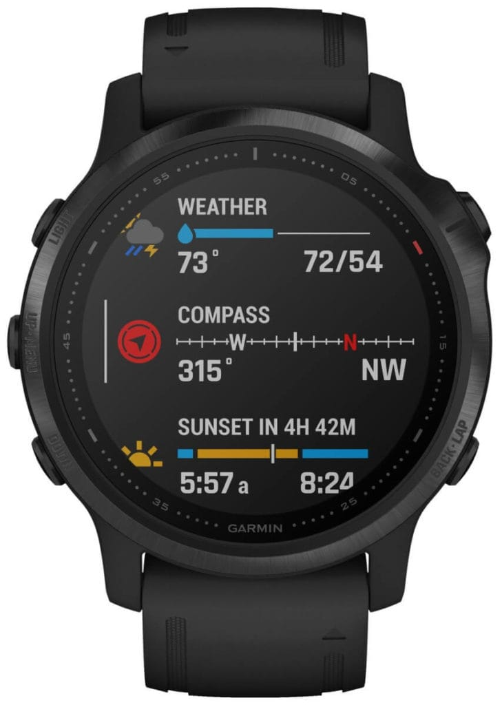 New Garmin Fenix 6, 6S and 6X images - detailed product renders 24