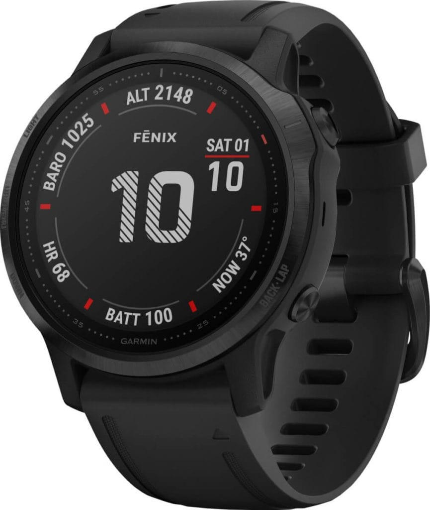New Garmin Fenix 6, 6S and 6X images - detailed product renders 12