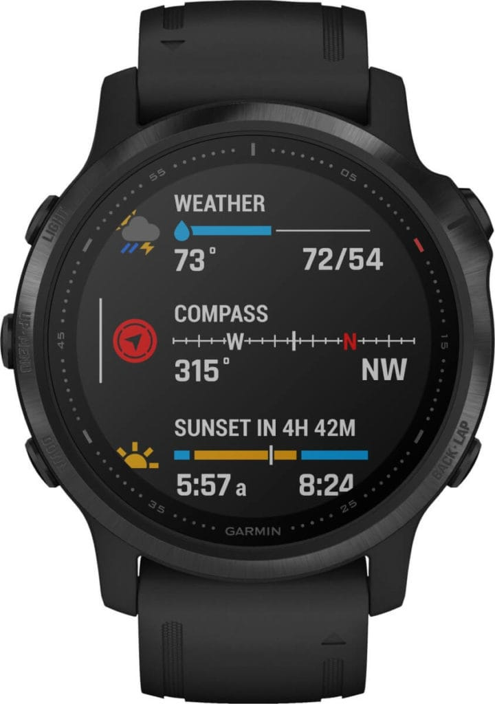 New Garmin Fenix 6, 6S and 6X images - detailed product renders 13