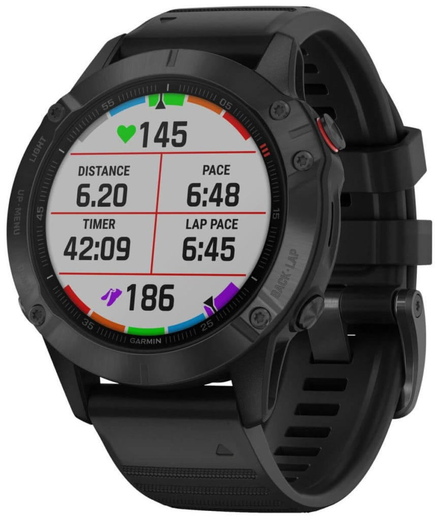New Garmin Fenix 6, 6S and 6X images - detailed product renders 33