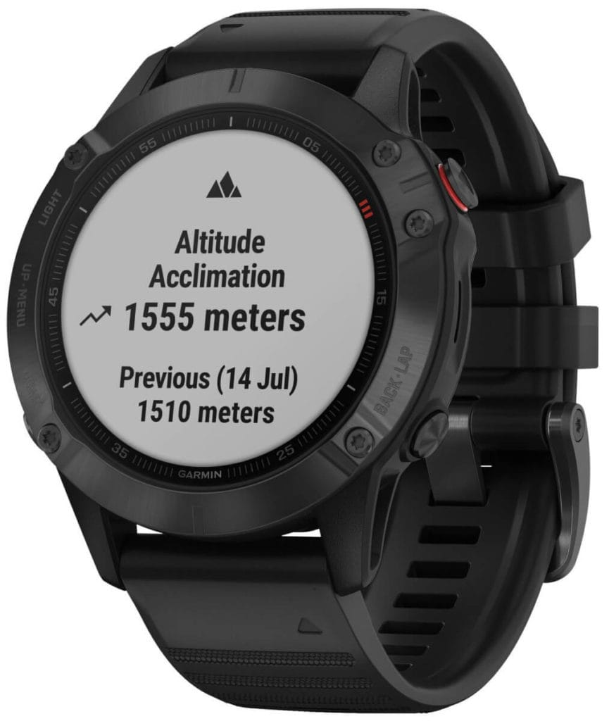 New Garmin Fenix 6, 6S and 6X images - detailed product renders 34
