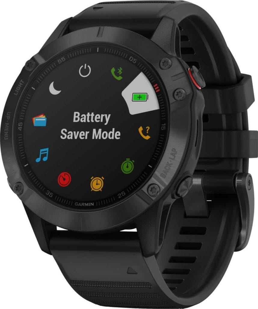 New Garmin Fenix 6, 6S and 6X images - detailed product renders 35