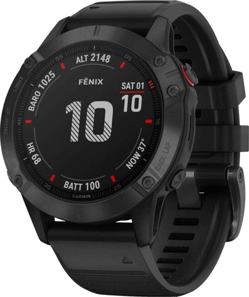 New Garmin Fenix 6, 6S and 6X images - detailed product renders 36