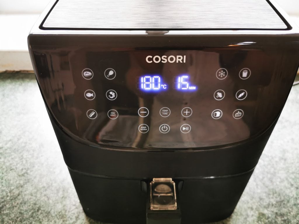 Cosori Air Fryer Review – 3.5L oil-free air fryer for quick low-fat healthy cooking 4