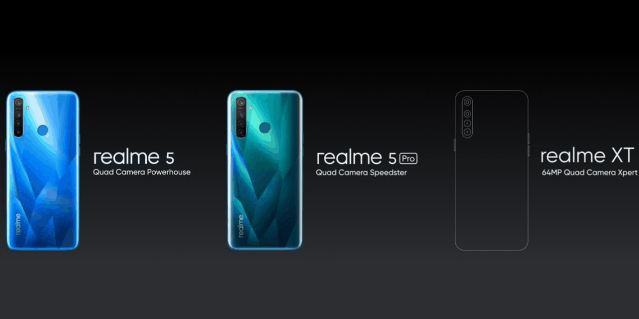 Realme XT with Quad Camera, 64MP Samsung SOCELL Bright GW1 lens, expected to launch in October