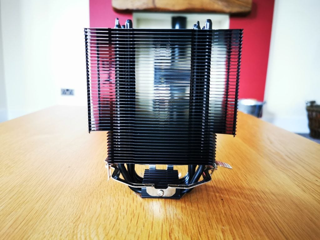 ThermalTake UX200 ARGB CPU Cooler with 120mm ARGB Fan Review 6