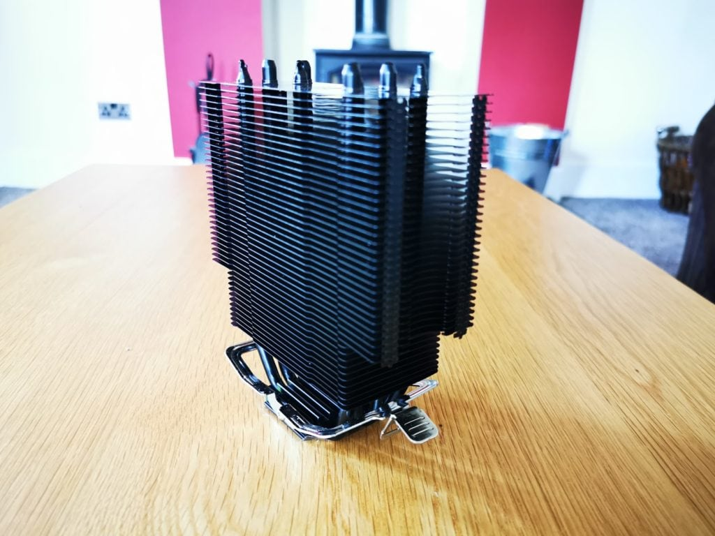 ThermalTake UX200 ARGB CPU Cooler with 120mm ARGB Fan Review 5